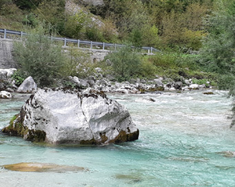Fly fishing Soča Slovenia